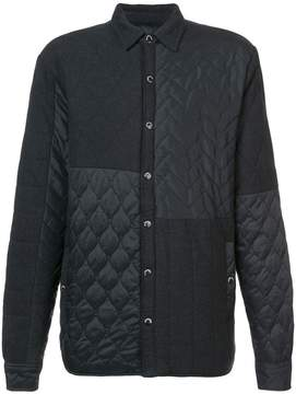 Mostly Heard Rarely Seen quilted shirt jacket