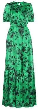 N°21 Printed silk maxi dress