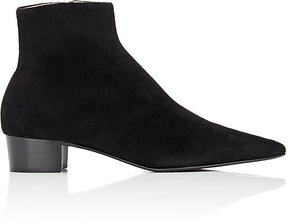 The Row Women's Ambra Suede Ankle Boots