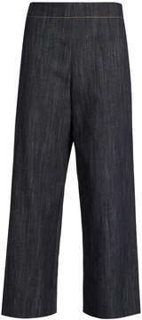ADAM by Adam Lippes Wide-leg cropped jeans