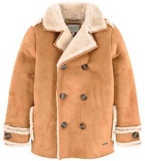 Pepe Jeans Synthetic sheepskin coat