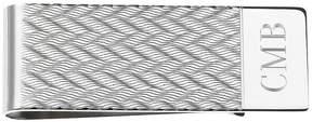 Asstd National Brand Personalized Zigzag Pattern Money Clip