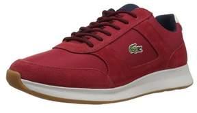 Lacoste Men's Joggeur 417 1 Sneaker, Red/navy, Size 11.0.