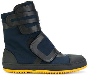 Marni ridged sole boots