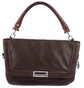 Lanvin Leather Flap Satchel