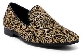 Giorgio Brutini Sparkle Fabric Smoking Loafer