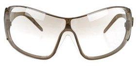 Roberto Cavalli Oversize Shield Sunglasses