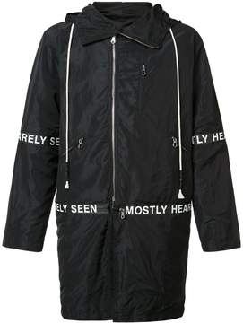 Mostly Heard Rarely Seen hooded parka