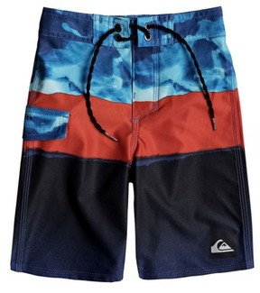 Quiksilver Boy's Blocked Resin Camo Board Shorts