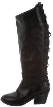 Haider Ackermann Leather Knee-High Boots
