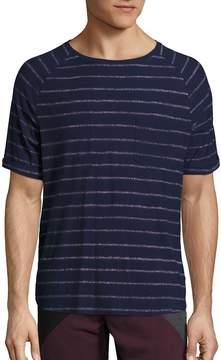 Madison Supply Men's Striped Cotton T-Shirt