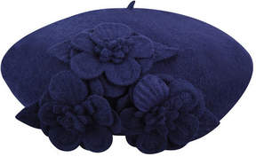 Betmar Women's Flower Beret