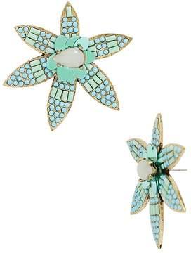 BaubleBar Starflower Drop Earrings