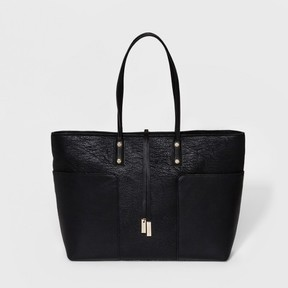 A+ Women's Tote Handbag with Side Pockets