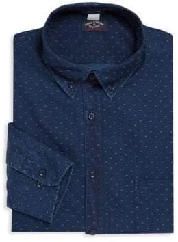 Paul & Shark Dotted Cotton Dress Shirt