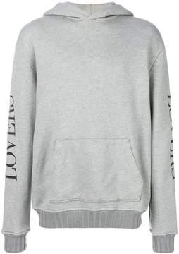 Amiri Lovers pullover hoodie