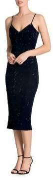 Dress the Population Velvet Bodycon Slip Dress