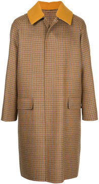 H Beauty&Youth single-breasted tweed coat