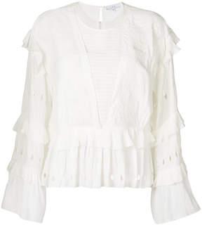 IRO Jasper ruffle blouse