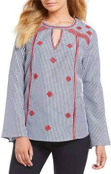 Gibson & Latimer Embroidered Blouse