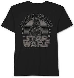 Star Wars Darth Vader Graphic-Print Cotton T-Shirt, Big Boys