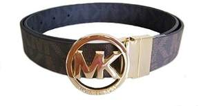 Michael Kors MICHAEL Reversible Belt with Gold-Tone Logo