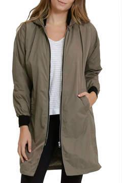 Cherish Bomber Long Jacket