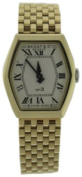 Bedat & Co 306.303.100 18K Yellow Gold Quartz 24.8mm Womens Watch