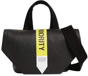 Maison Margiela Priority Leather Shoulder Bag