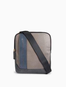 Calvin Klein textured flight bag