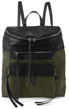 Kooba Phoenix Canvas Leather Backpack