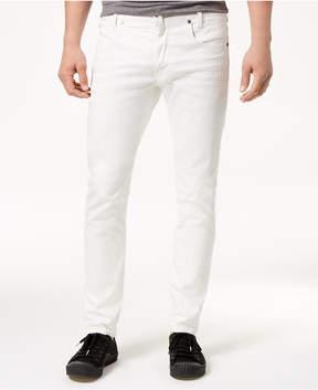 G Star Men's Slim-Fit Stretch White Jeans