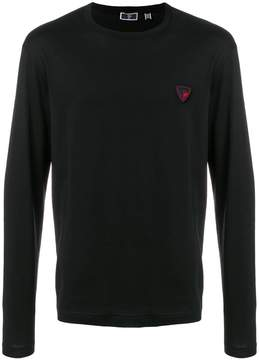 Rossignol logo patch sweater