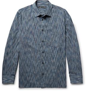 Issey Miyake Patterned Cotton-Blend Shirt