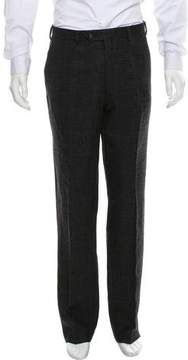 Ralph Lauren Black Label Wool Glen Plaid Pants