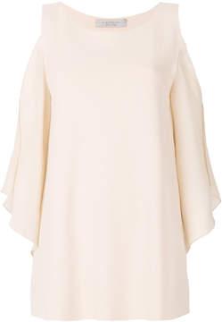 D-Exterior D.Exterior dropped shoulders blouse