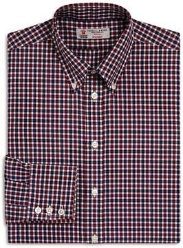 Turnbull & Asser Check Regular Fit Dress Shirt