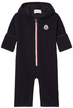 Moncler Navy Jumpsuit with Hood