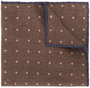 Eleventy polka dot patterned handkerchief