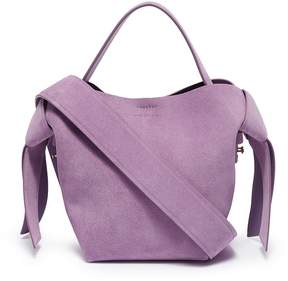 Acne Studios 'Musubi' knot sash mini cow leather shoulder bag