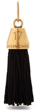 Balenciaga Hotel Fringe key ring