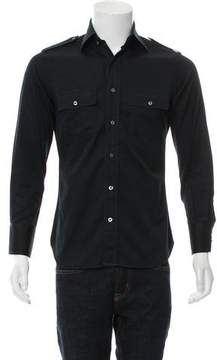 Tom Ford Utility Button-Up Shirt
