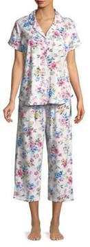 Karen Neuburger Printed Short-Sleeve Pajamas