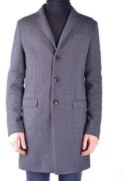 Massimo Rebecchi Men's Grey Wool Coat.