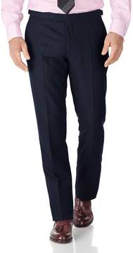 Charles Tyrwhitt Navy Classic Fit British Serge Luxury Suit Wool Pants Size W36 L34
