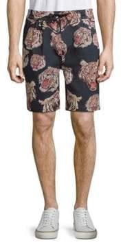 Publish Kael Printed Drawstring Shorts