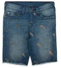 True Religion Boy's Geno Printed Shorts
