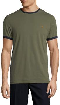 Farah Men's GROVES RINGER SS TEE