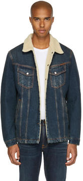 Nudie Jeans Indigo Denim Lenny Jacket