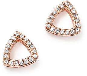 Bloomingdale's Diamond Triangle Stud Earrings in 14K Rose Gold, .20 ct. t.w. - 100% Exclusive